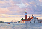 One of Margaret Heath's paintings of Venice.